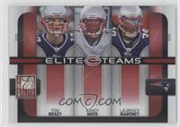 Laurence Maroney, Randy Moss, Tom Brady /400