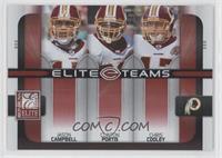 Jason Campbell, Clinton Portis, Chris Cooley #/400