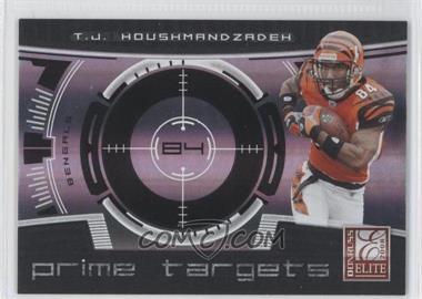 2008 Donruss Elite - Prime Targets - Black #PT-10 - T.J. Houshmandzadeh /400