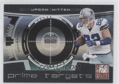 2008 Donruss Elite - Prime Targets - Black #PT-11 - Jason Witten /400
