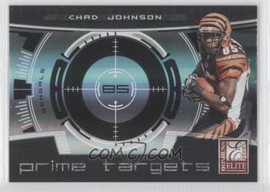 2008 Donruss Elite - Prime Targets - Black #PT-3 - Chad Johnson /400