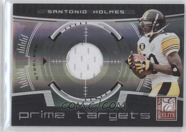 2008 Donruss Elite - Prime Targets - Jerseys [Memorabilia] #PT-21 - Santonio Holmes /199