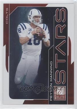 2008 Donruss Elite - Stars - Red #S-11 - Peyton Manning /800