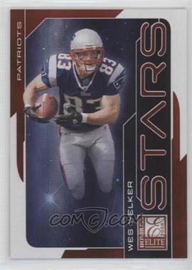 2008 Donruss Elite - Stars - Red #S-12 - Wes Welker /800