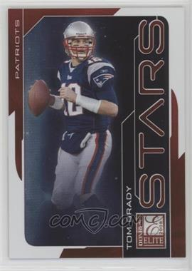 2008 Donruss Elite - Stars - Red #S-24 - Tom Brady /800