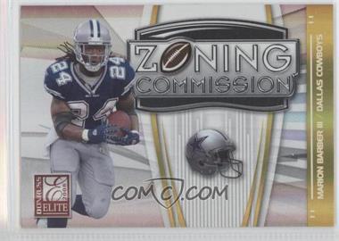 2008 Donruss Elite - Zoning Commission - Gold #ZC-10 - Marion Barber III /800