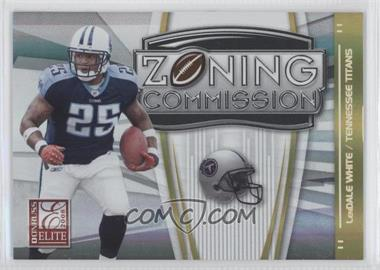 2008 Donruss Elite - Zoning Commission - Gold #ZC-12 - LenDale White /800