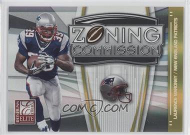 2008 Donruss Elite - Zoning Commission - Gold #ZC-14 - Laurence Maroney /800