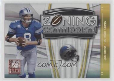 2008 Donruss Elite - Zoning Commission - Gold #ZC-27 - Jon Kitna /800
