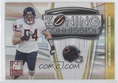 2008 Donruss Elite - Zoning Commission - Gold #ZC-29 - Brian Urlacher /800
