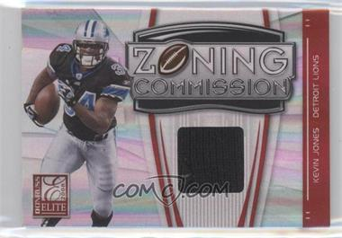 2008 Donruss Elite - Zoning Commission - Jerseys Prime [Memorabilia] #ZC-16 - Kevin Jones /50