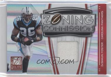 2008 Donruss Elite - Zoning Commission - Jerseys Prime [Memorabilia] #ZC-22 - DeShaun Foster /50