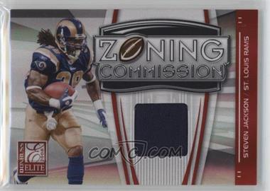 2008 Donruss Elite - Zoning Commission - Jerseys Prime [Memorabilia] #ZC-36 - Steven Jackson /50