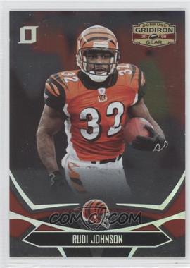 2008 Donruss Gridiron Gear - [Base] - Silver Os #22 - Rudi Johnson /250