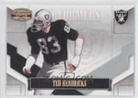 Ted Hendricks #/250