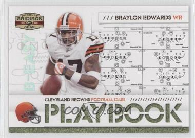 2008 Donruss Gridiron Gear - Playbook - Silver #PL-8 - Braylon Edwards /250