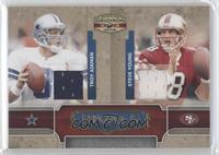 Steve Young, Troy Aikman /100