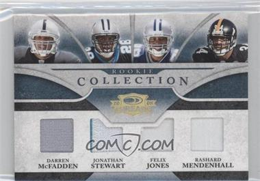 2008 Donruss Threads - [???] #RCQM-3 - Felix Jones, Rashard Mendenhall /25