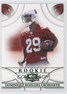 2008 Donruss Threads - [Base] - Green Century Proof #179 - Dominique Rodgers-Cromartie /200