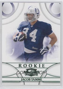 2008 Donruss Threads - [Base] - Green Century Proof #186 - Jacob Tamme /200