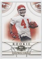 Dantrell Savage #/999