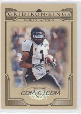 2008 Donruss Threads - College Gridiron Kings - Silver #CGK-41 - DeSean Jackson /250