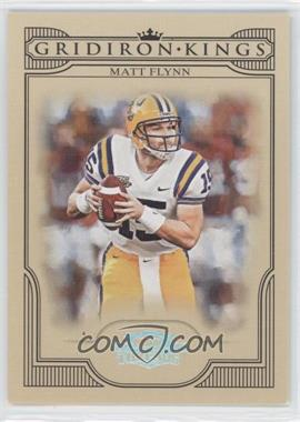 2008 Donruss Threads - College Gridiron Kings - Silver #CGK-47 - Matt Flynn /250