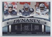 Emmitt Smith, Michael Irvin, Troy Aikman /100