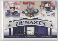 Troy Aikman, Emmitt Smith, Michael Irvin /250