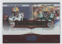Sterling Sharpe, Greg Jennings /100
