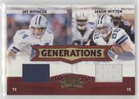 Jay Novacek, Jason Witten /250