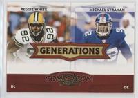 Michael Strahan, Reggie White