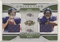 Joe Flacco, Ray Rice #/500