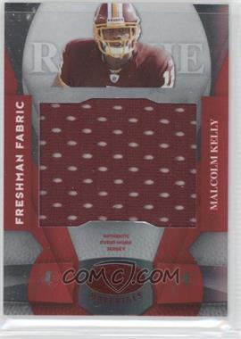 2008 Leaf Certified Materials - [Base] - Mirror Red Materials #229 - Freshman Fabric - Malcolm Kelly /100
