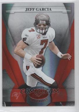 2008 Leaf Certified Materials - [Base] - Mirror Red #135 - Jeff Garcia /100