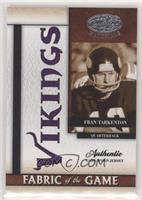 Fran Tarkenton #/25