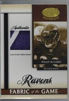 Willis McGahee [Noted] #/25