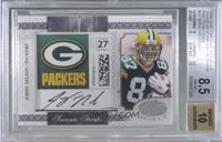 Jordy Nelson [BGS 8.5 NM‑MT+] #/21
