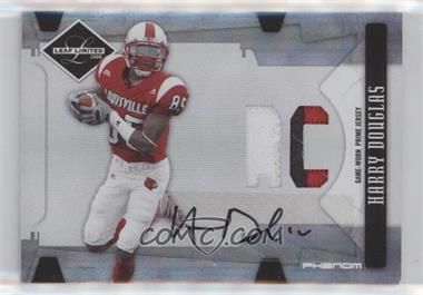 2008 Leaf Limited - [Base] - Phenoms College [Autographed] [Memorabilia] #316 - Harry Douglas /50