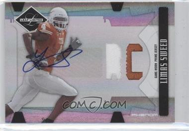 2008 Leaf Limited - [Base] - Phenoms College [Autographed] [Memorabilia] #327 - Limas Sweed /50