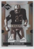 Ted Hendricks #/125