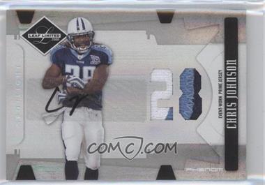 2008 Leaf Limited - [Base] - Spotlight Silver #304 - Chris Johnson /49