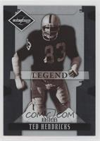Ted Hendricks [Noted] #/499