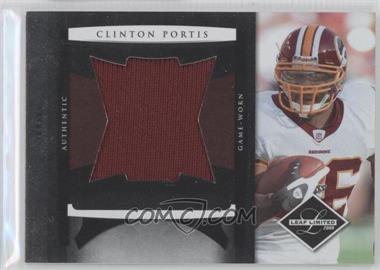 2008 Leaf Limited - Jumbo Jerseys #19 - Clinton Portis /50