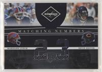 Devin Hester, Marshawn Lynch /100
