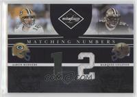 Aaron Rodgers, Marques Colston /100