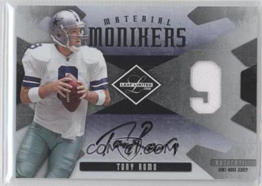 2008 Leaf Limited - Material Monikers Jersey Numbers #MM-42 - Tony Romo /50