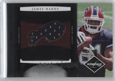 2008 Leaf Limited - Rookie Jumbo Jerseys - Team Logo #27 - James Hardy /50