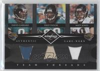 David Garrard, Matt Jones, Fred Taylor /100