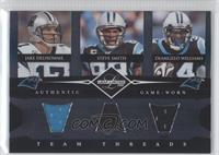 Steve Smith, DeAngelo Williams, Jake Delhomme /100